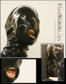 "Latexmaske ""FineBlackLips"""